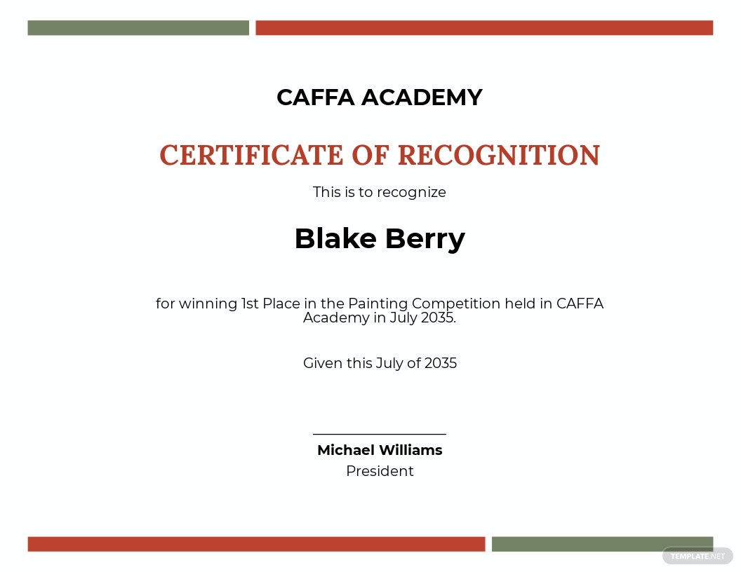 Free Painting Competition Award Certificate Template.jpe