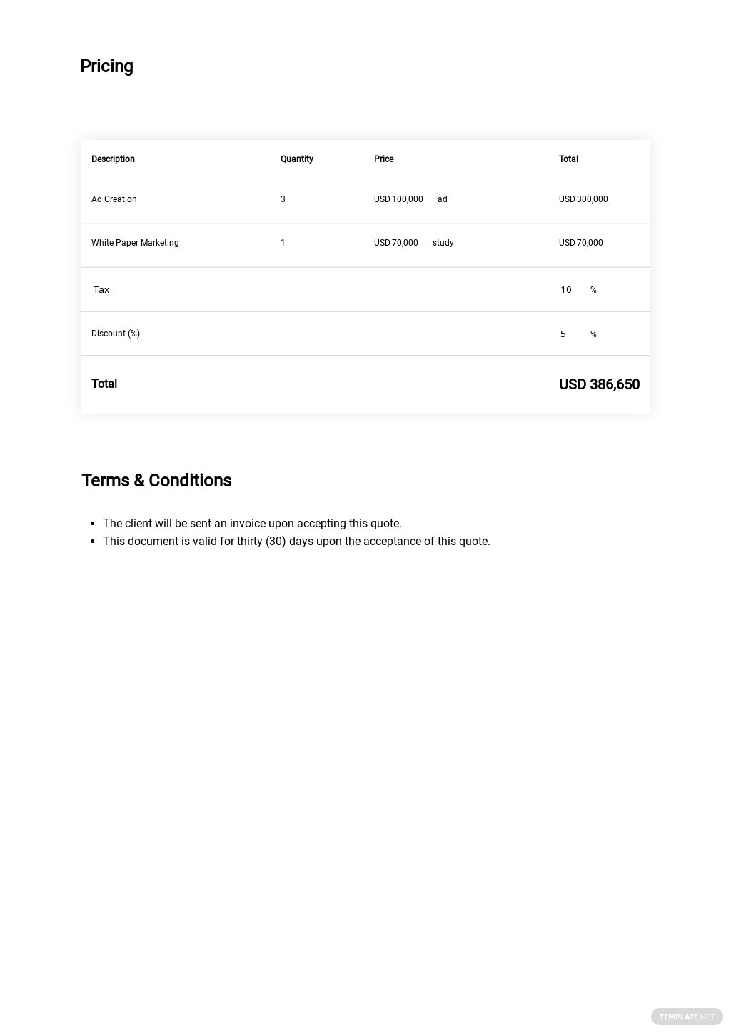 Business Price Quotation Template 1.jpe