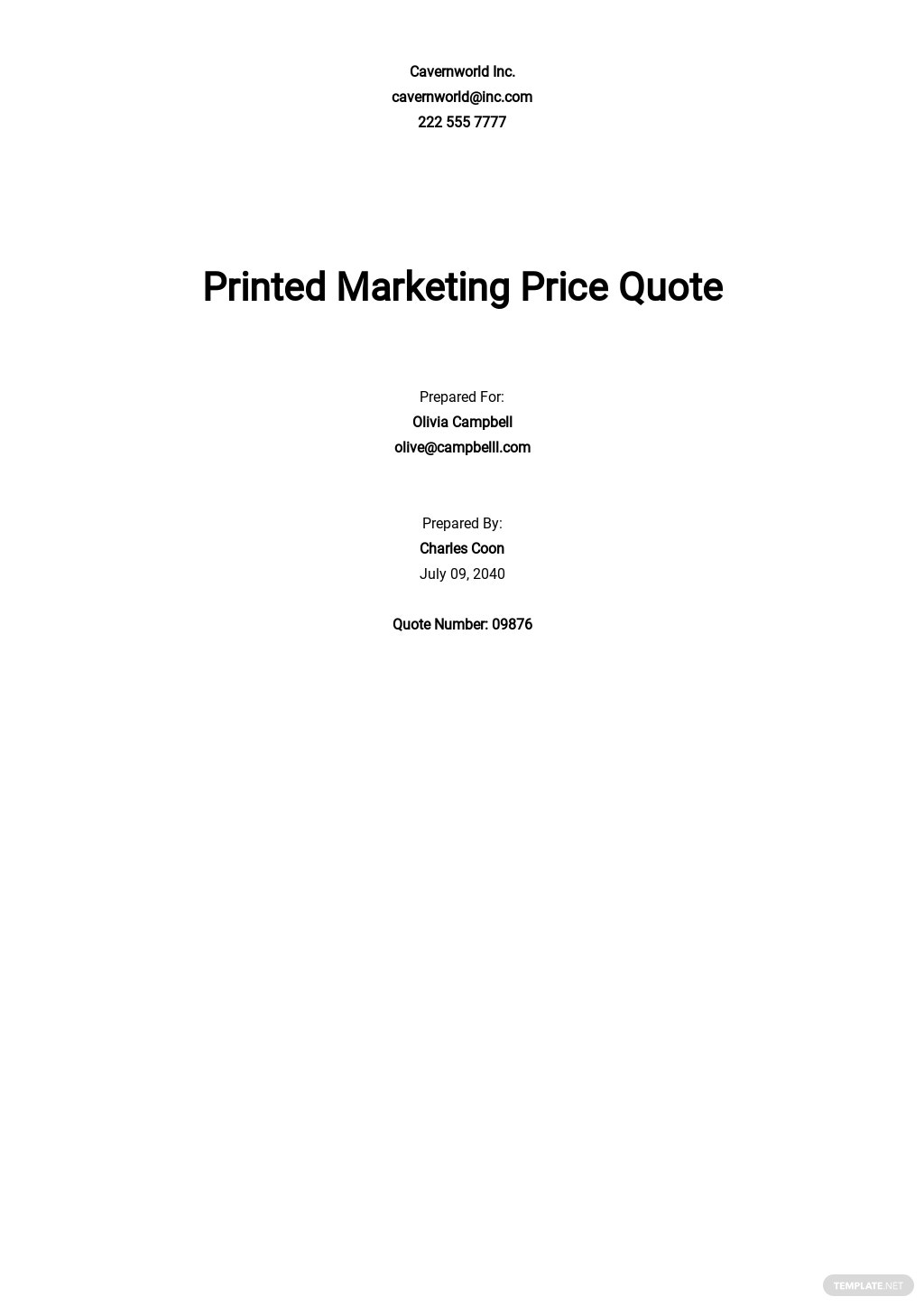 Business Price Quotation Template.jpe