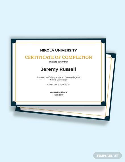Free Blank Certificate of Recognition Template