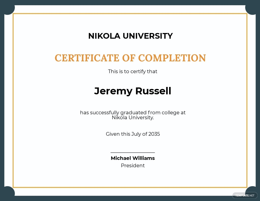 Free Blank Certificate of Recognition Template.jpe