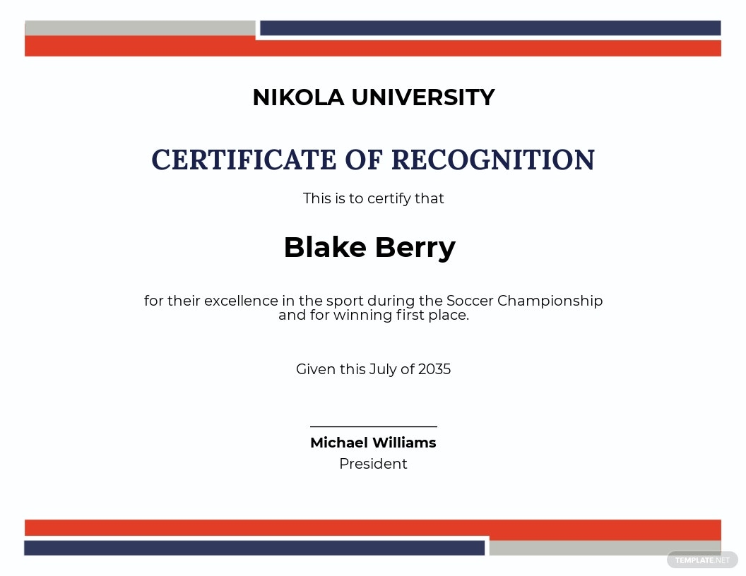 Soccer Excellence Certification Template.jpe