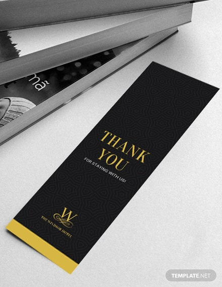 Free Blank Bookmark Template Download 13 Bookmarks In Psd