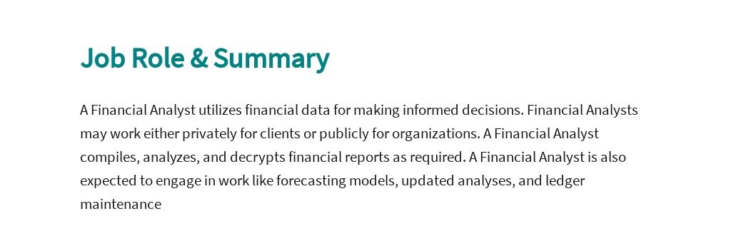 Business Financial Analyst Job Description Template 2.jpe