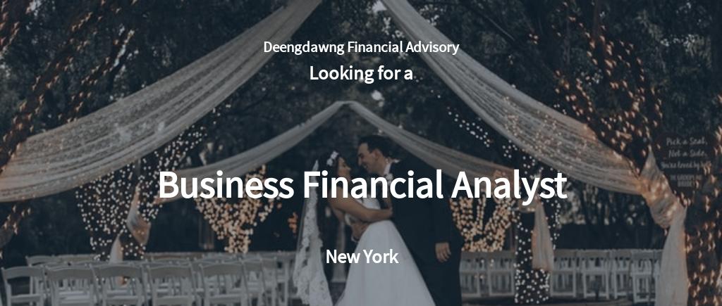 Business Financial Analyst Job Description Template.jpe