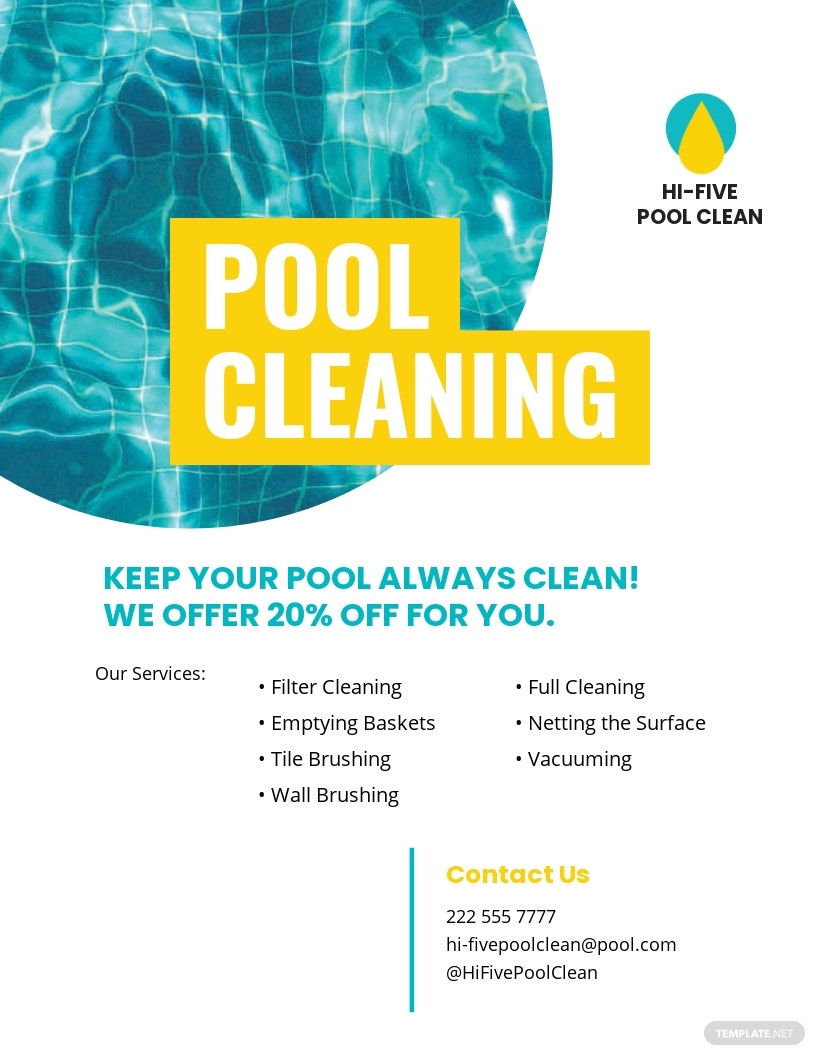 Pool Cleaning Service Flyer.jpe