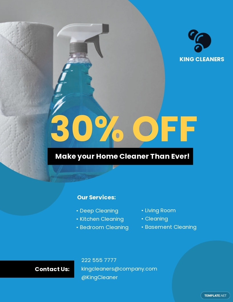House Cleaning Service Flyer.jpe