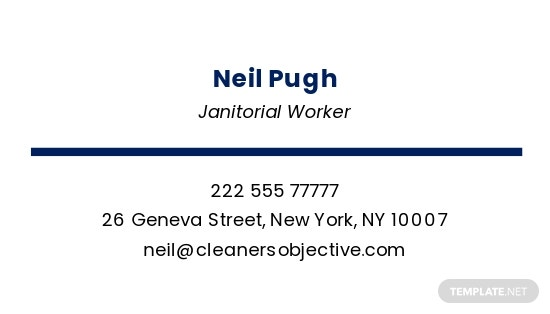 Janitorial  Office Cleaning Business Card Template 1.jpe