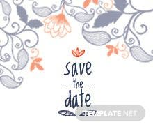 Free Save the Date Bookmark Template