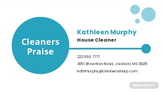 Sample Cleaning Business Card Template 1.jpe