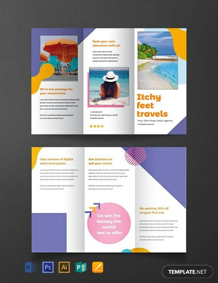 28+ FREE Travel Brochure Templates [Download Ready-Made Samples
