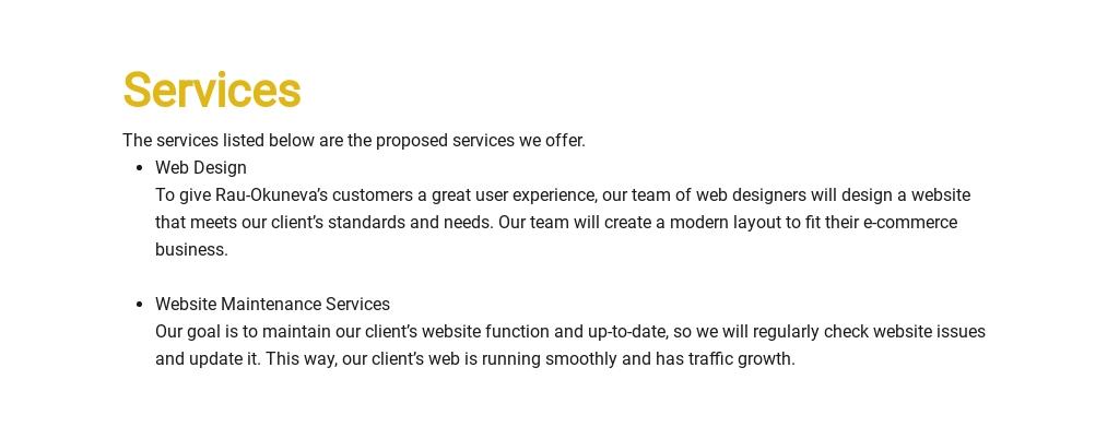 Sample Proposal for Ecommerce Website Template 2.jpe