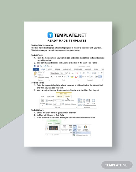 Cleaning Service Proposal with Checklist Template  - Google Docs, Word