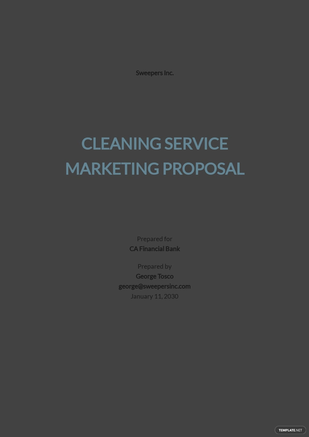 Cleaning Service Marketing Proposal Template.jpe