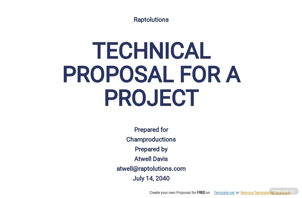 Sample of Technical Proposal for a Project Template.jpe