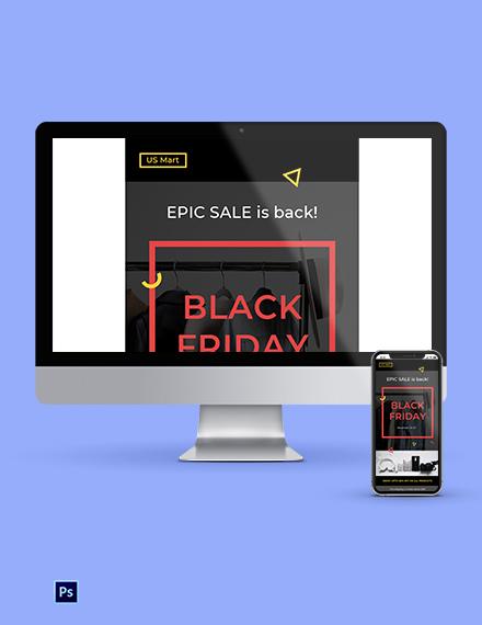 Black Friday Newsletter Template