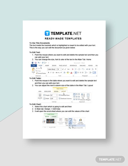 Construction Cleaning Invoice Template