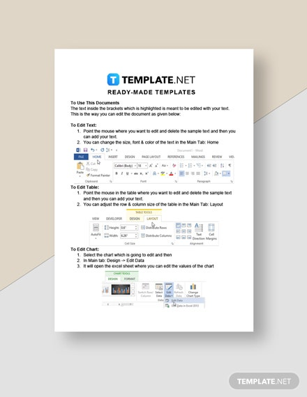 Carpet Cleaning Service Invoice Template