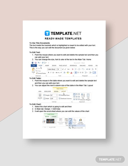 Cleaning Services Contract Agreement Invoice Template