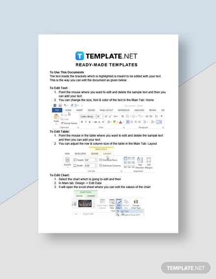 Commercial Cleaning Service Invoice Template