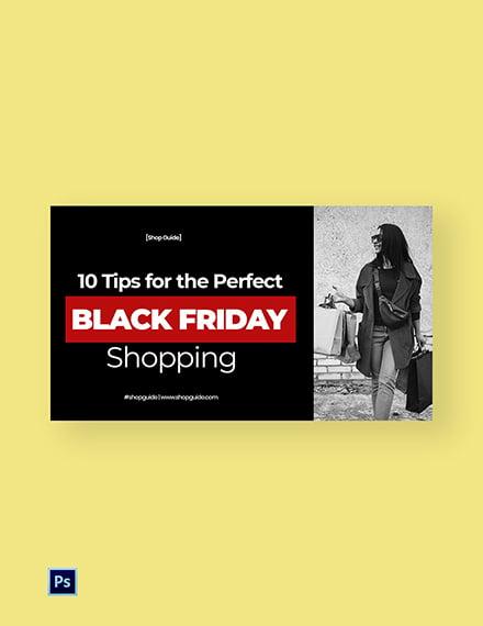 Black Friday Youtube Thumbnail Template