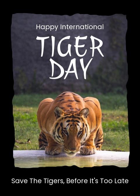Free International Tiger Day Greeting Card.jpe