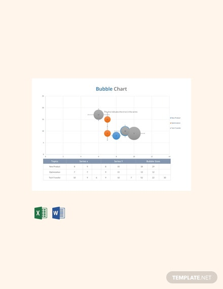 Free Bubble Chart Template