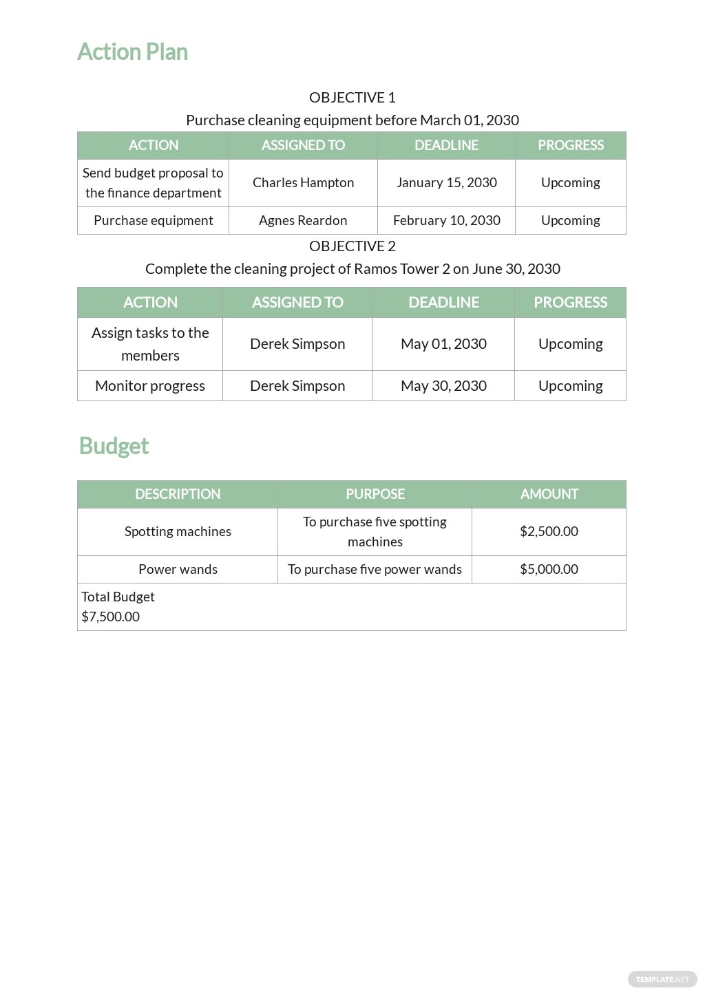 Execution Plan Template for Cleaning Services 3.jpe