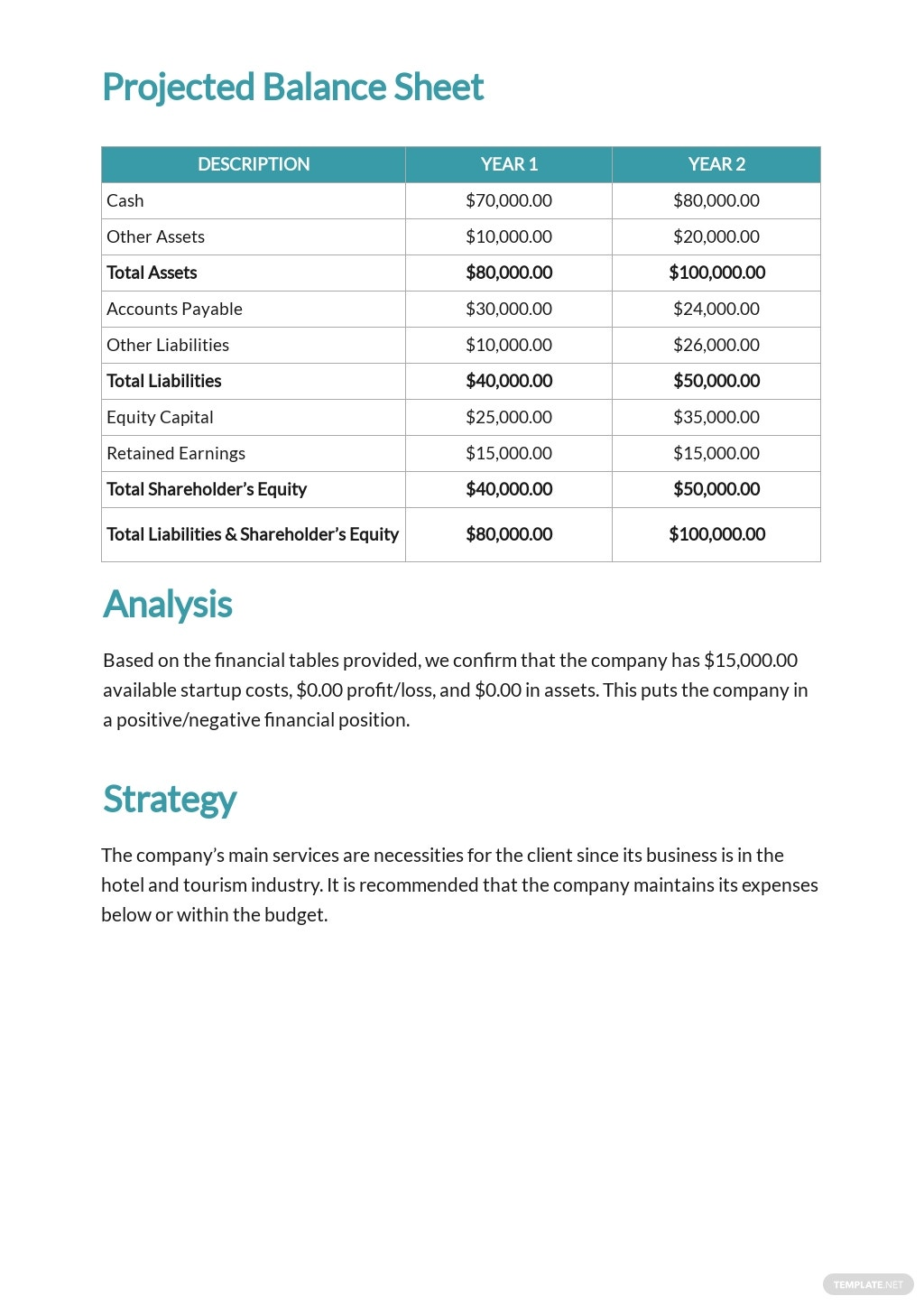 Cleaning Service Budget Plan Template 2.jpe
