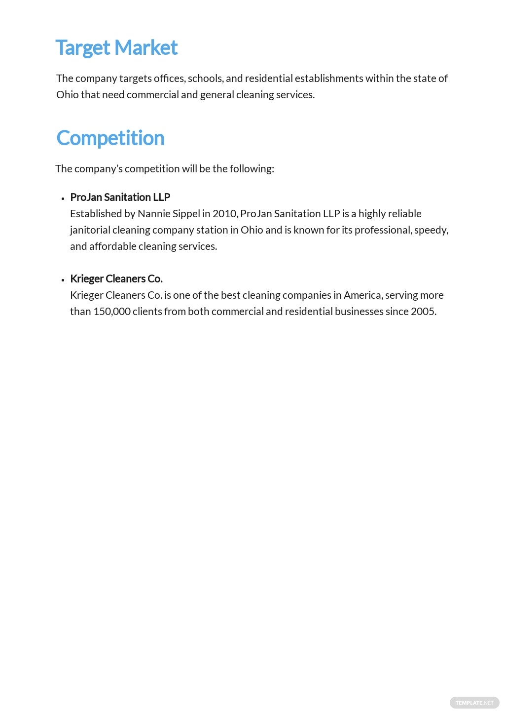 Commercial Cleaning Service Business Plan Template 2.jpe