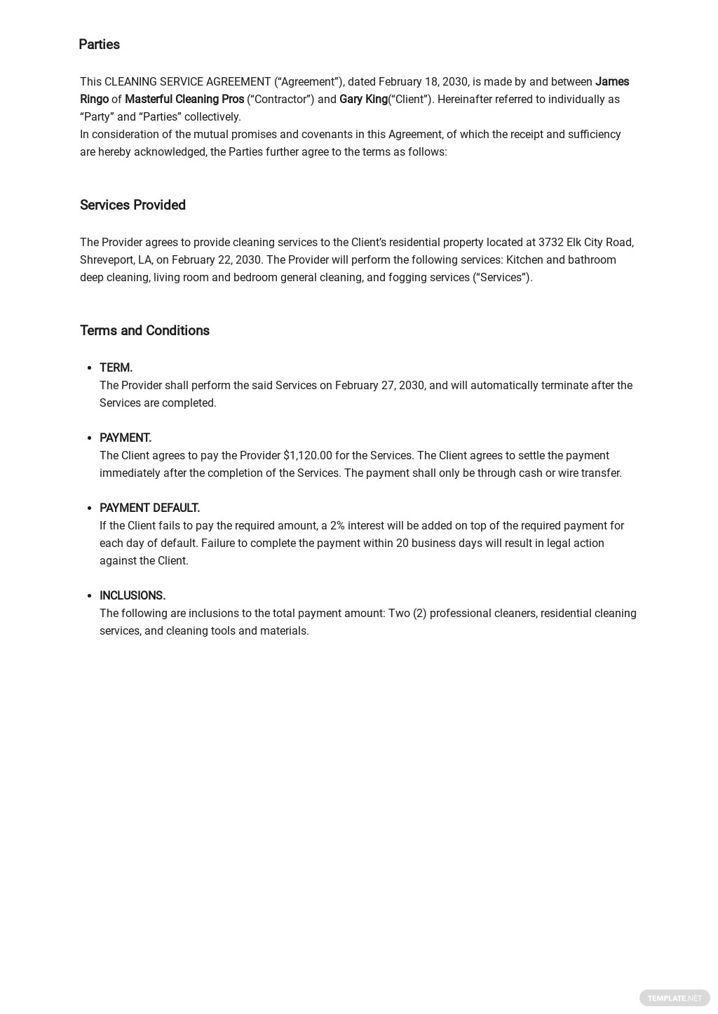 Cleaning Company Service Agreement Template 1.jpe