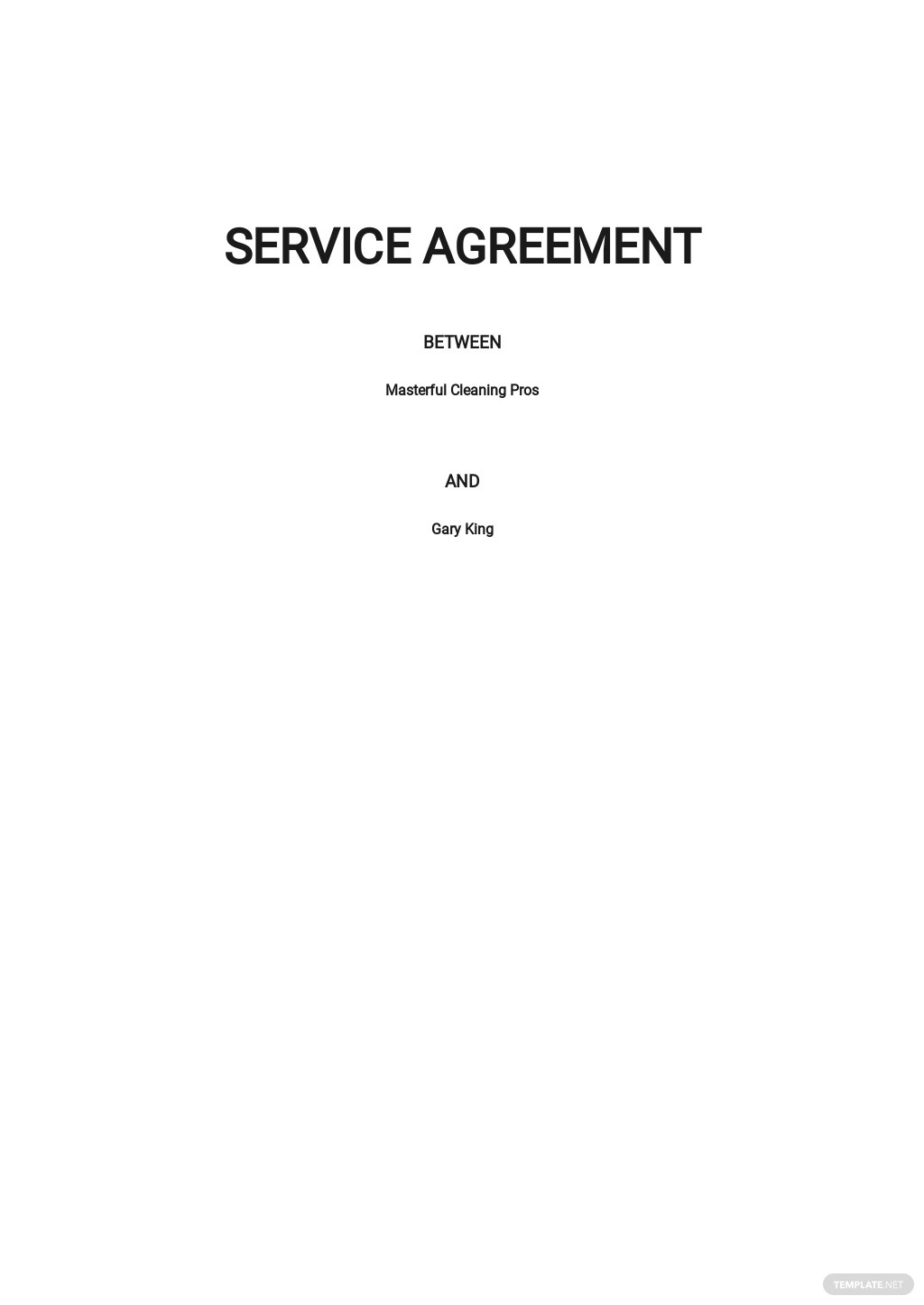 Cleaning Company Service Agreement Template.jpe