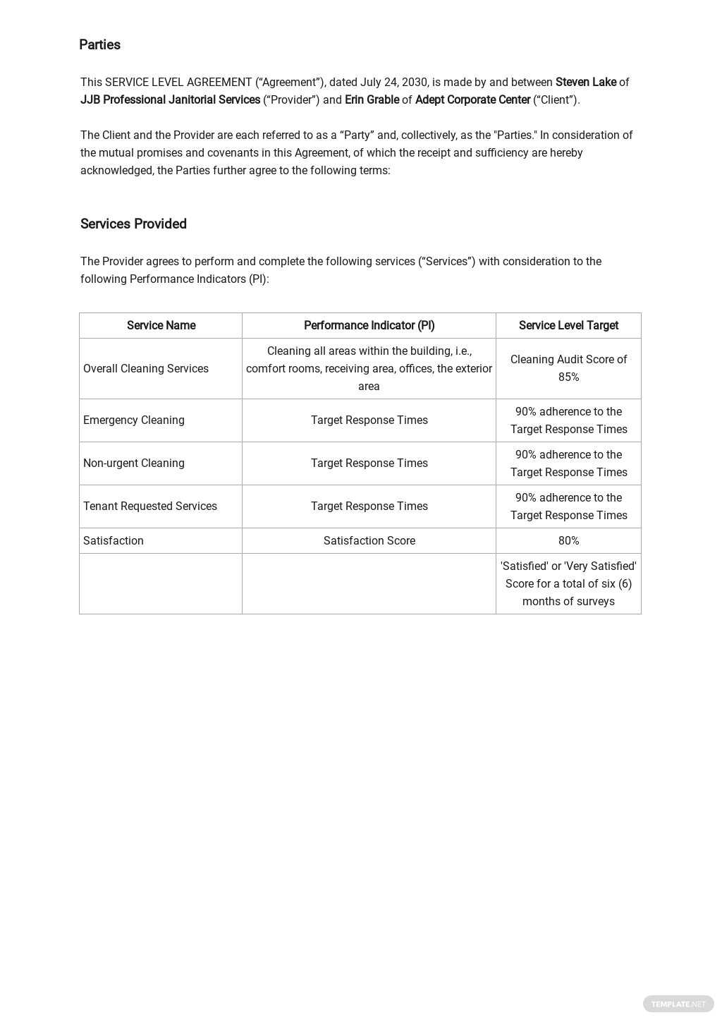 Cleaning Service Level Agreement Template 1.jpe