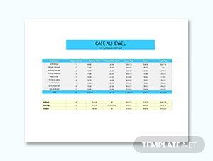 Corporate Pay Stub Template