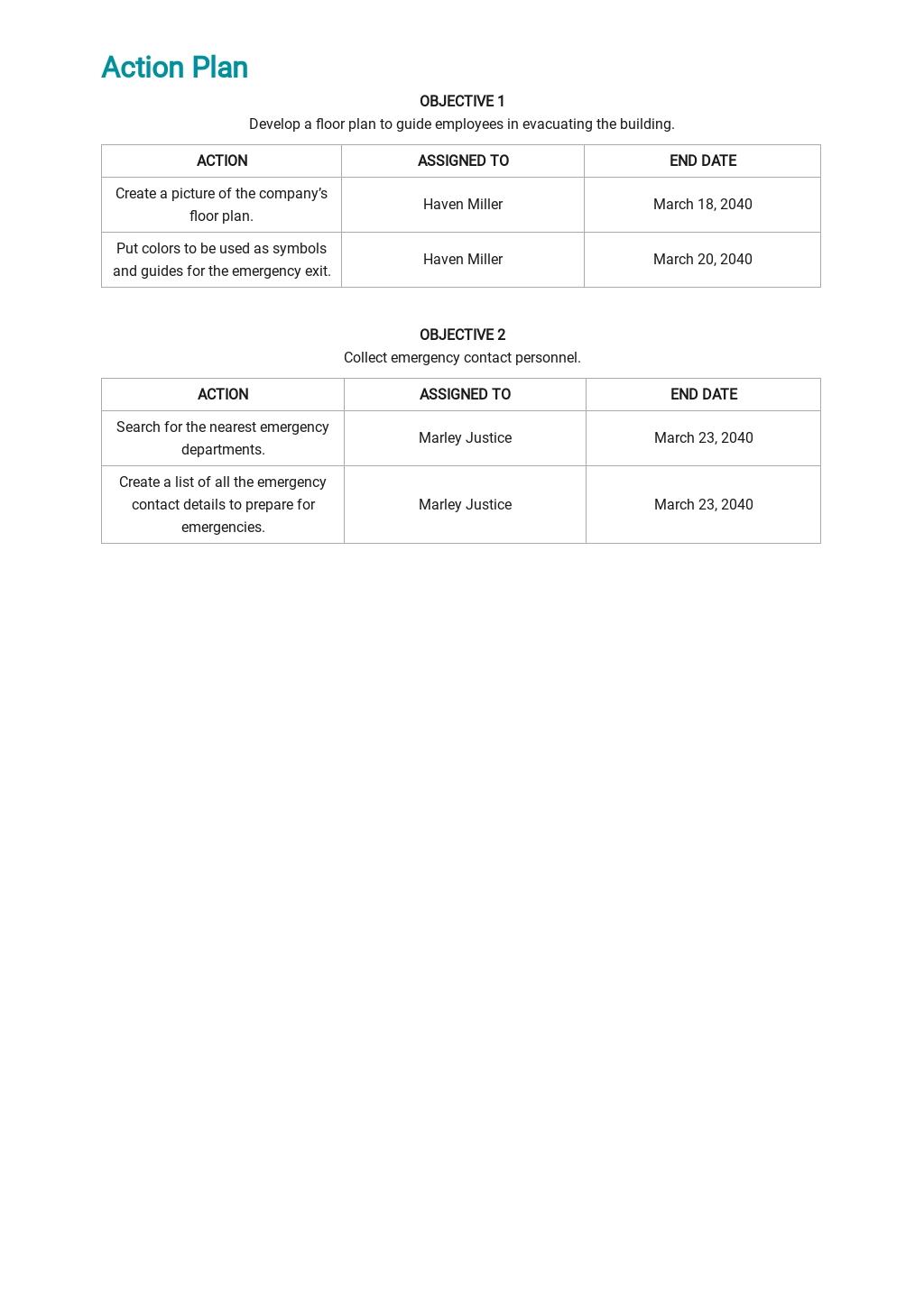 Free Emergency Evacuation Floor Plan Template 3.jpe