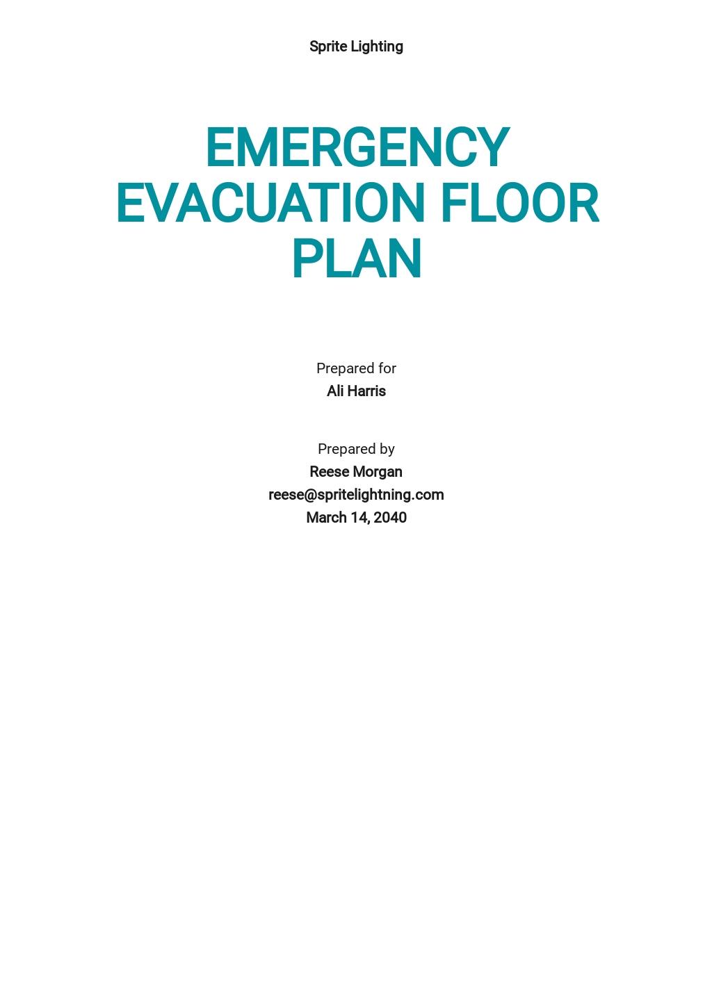 Free Emergency Evacuation Floor Plan Template.jpe