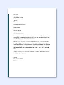 Medical Leave Application