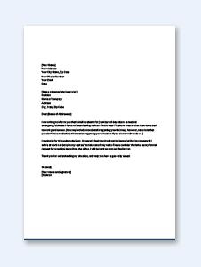 Medical Leave Letter for Office