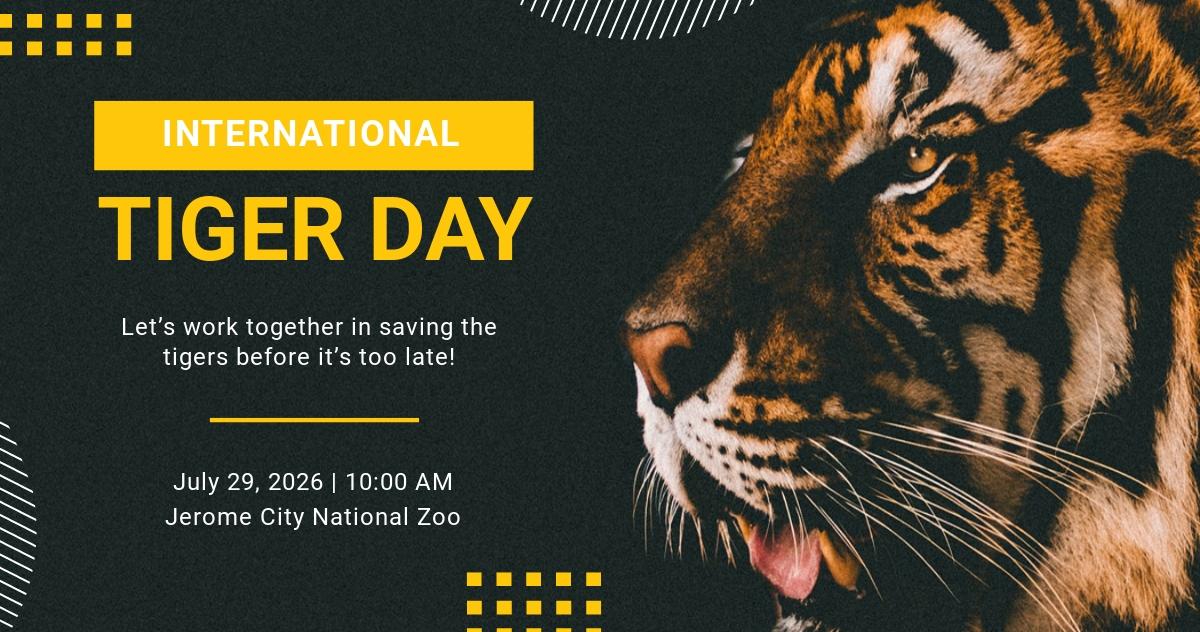 Free International Tiger Day Facebook Post.jpe