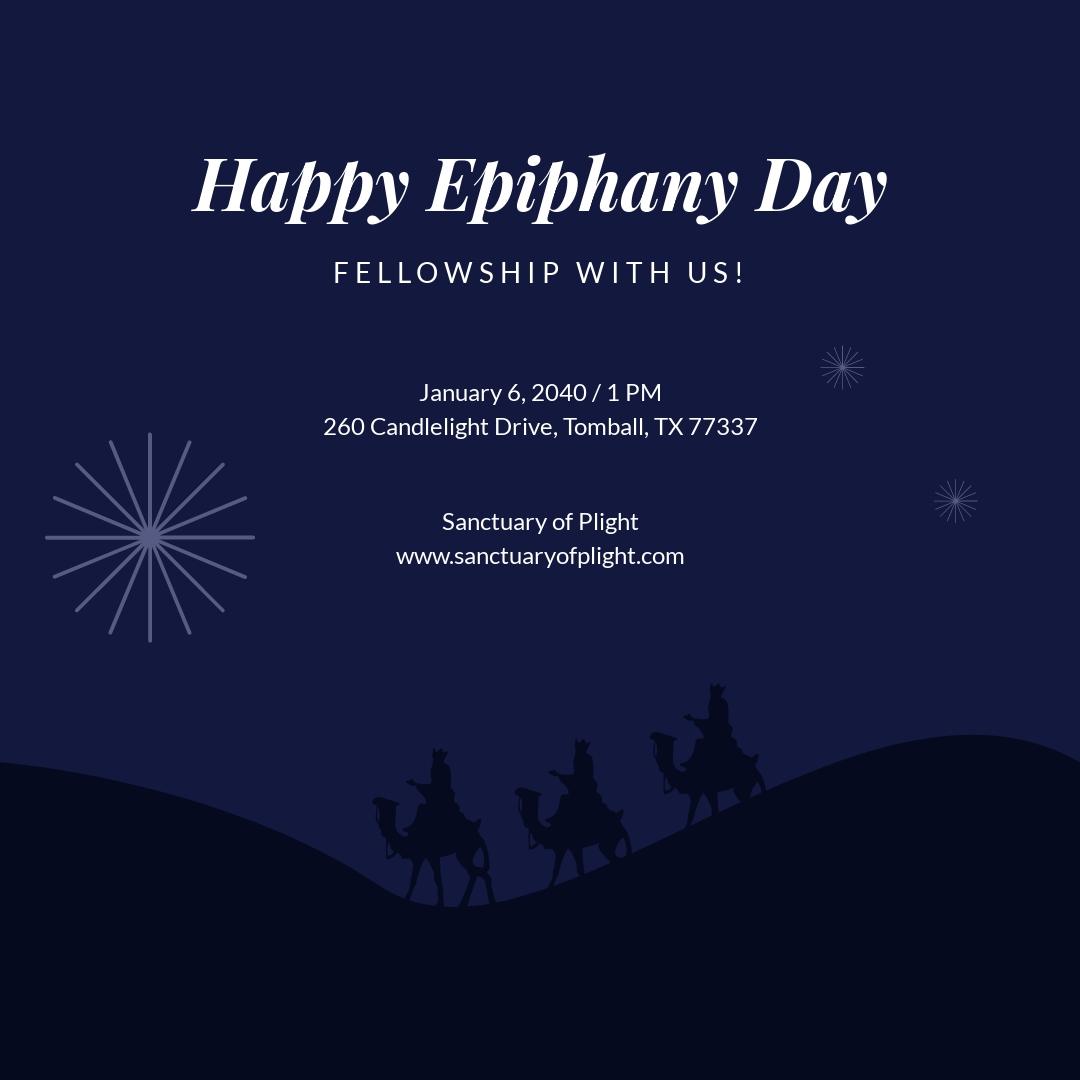 Happy Ephiphany Instagram Post Template.jpe