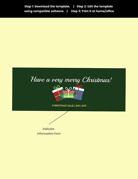 christmas price tag template printable