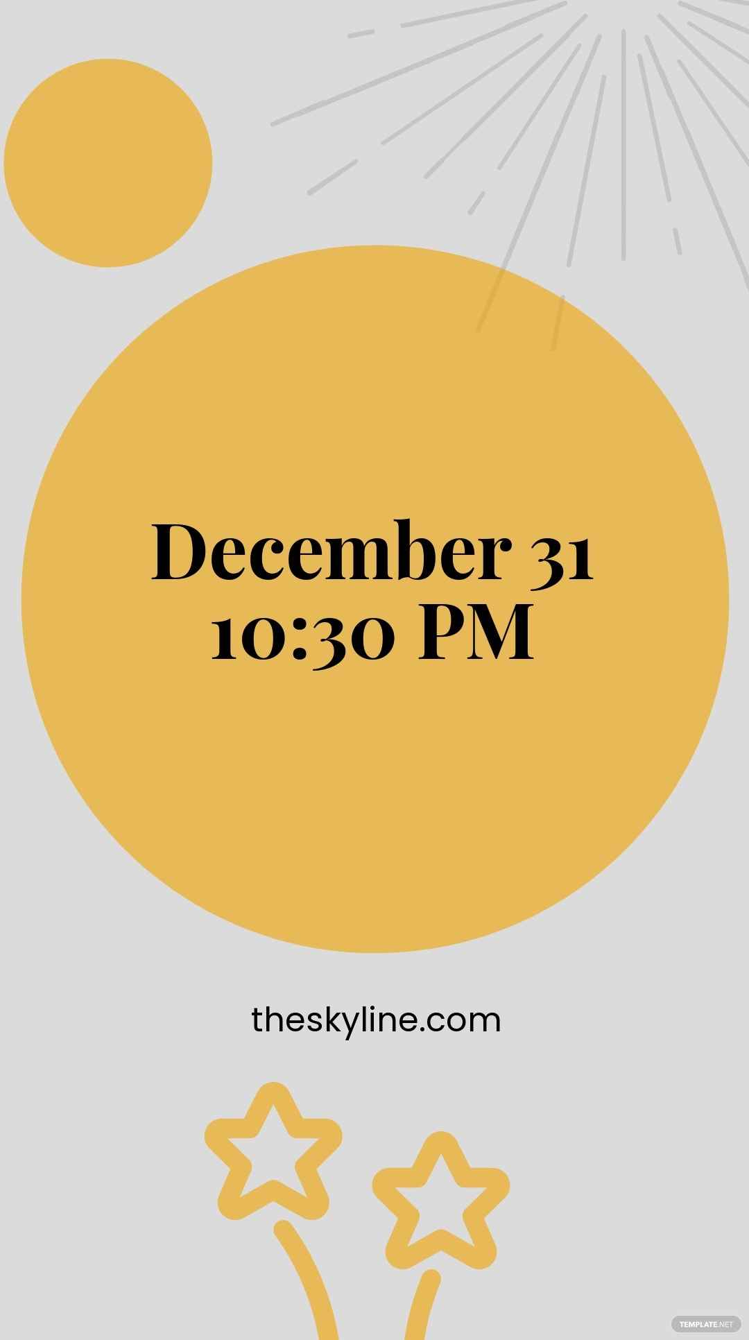 Free New Year's Eve Instagram Story Template 2.jpe