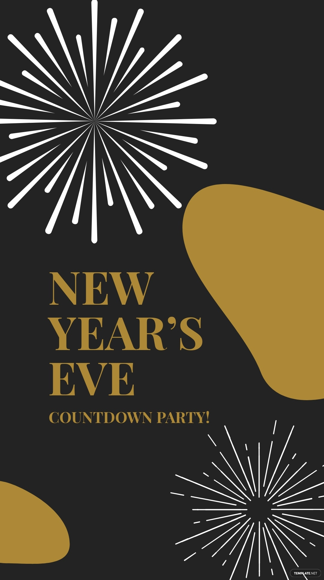 Free New Year Countdown Instagram Story Template 3.jpe