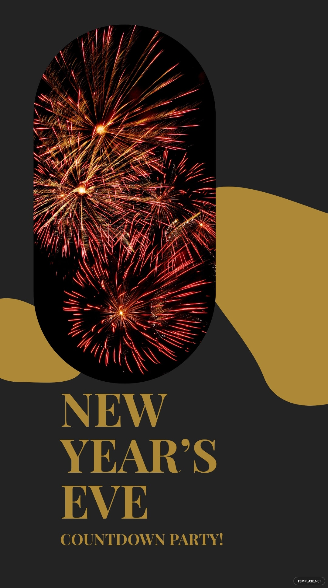 Free New Year Countdown Instagram Story Template 4.jpe