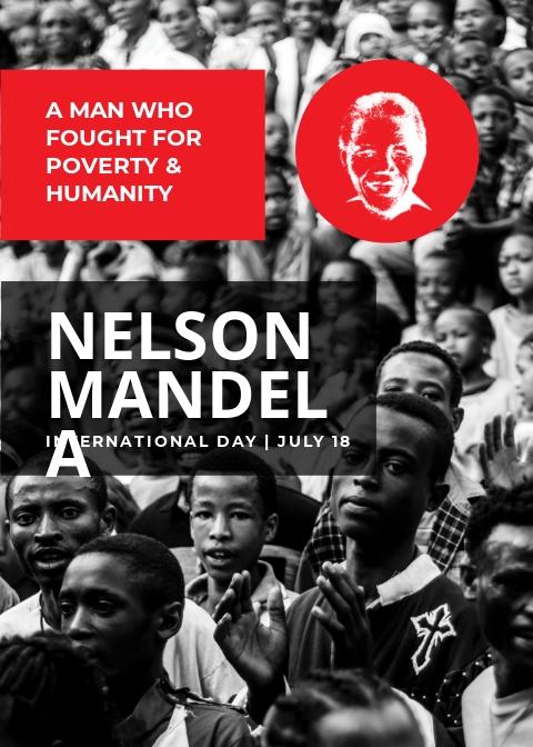 Free Nelson Mandela Day Card