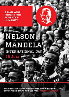 Nelson Mandela Day Card