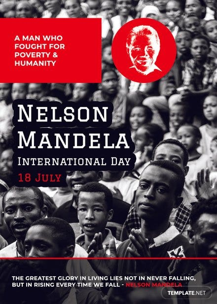 Nelson Mandela Day Card