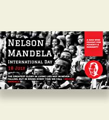 Nelson Mandela Day Facebook Post