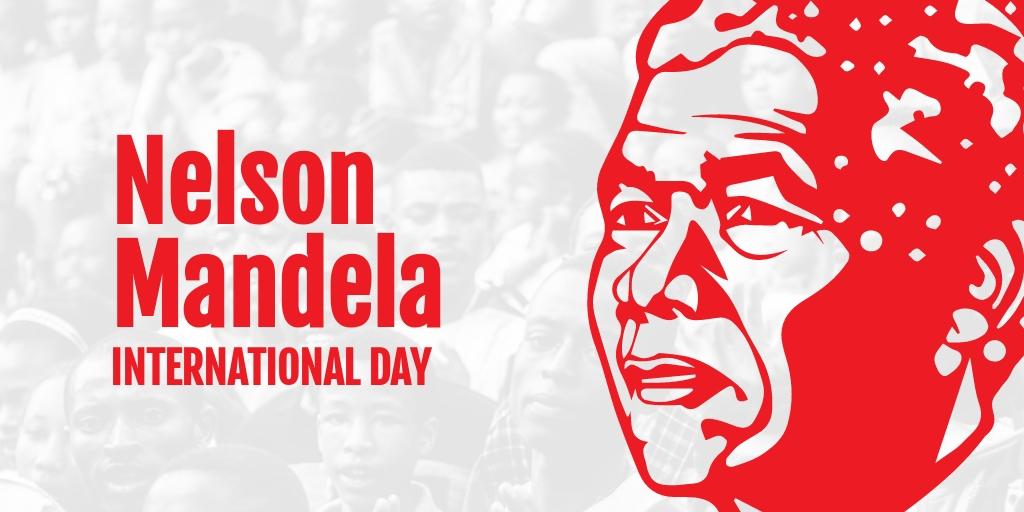 Nelson Mandela Day Twitter Post Template.jpe