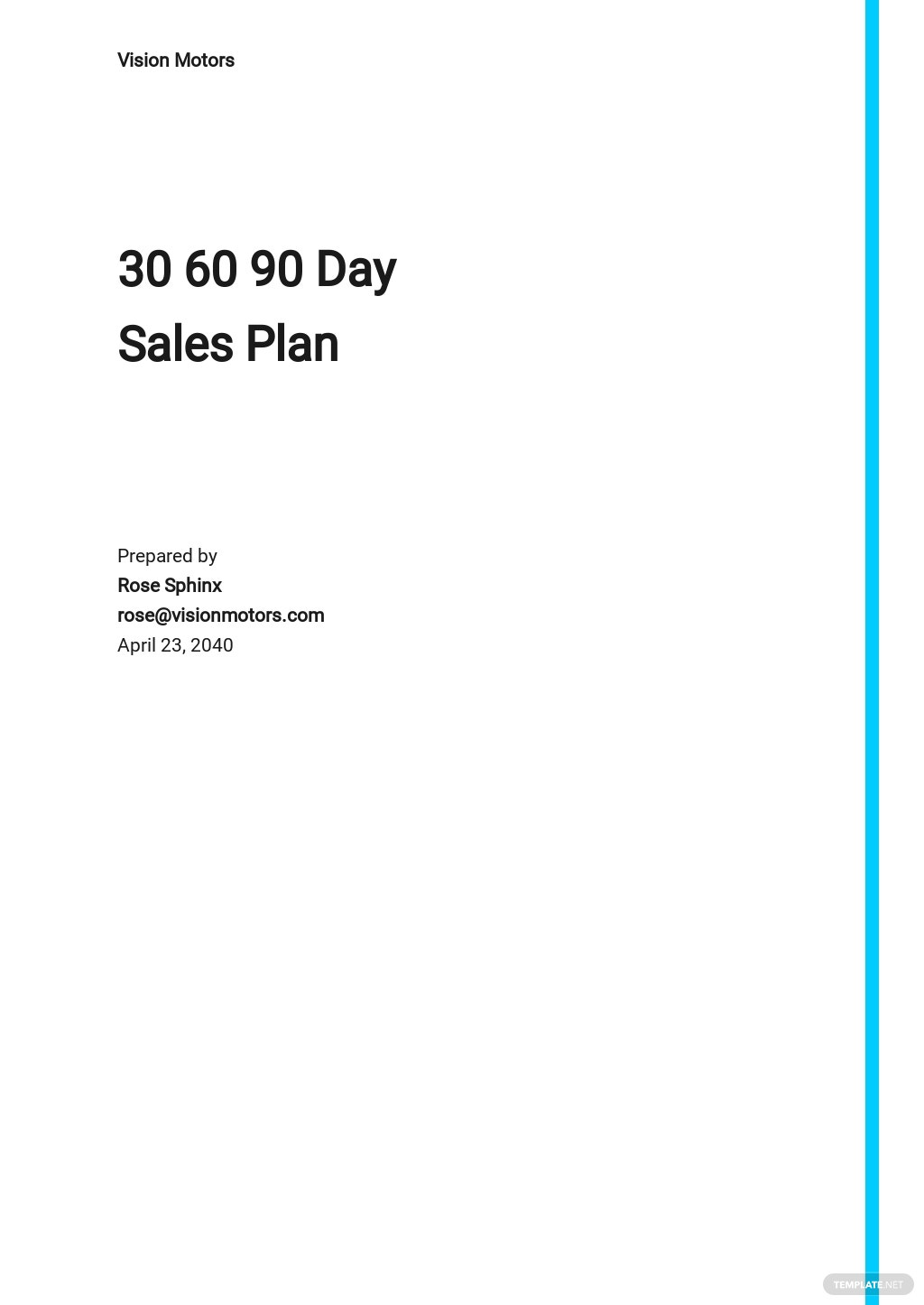 30 60 90 Day Sales Action Plan Template.jpe